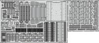 DKM Graf Zeppelin Deck & Cranes Pt.1 for TSM 1/350 Eduard