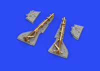 Fw 190A-2 Undercarriage Legs for EDU (Bronze & Resin) 1/48 Eduard Brassin