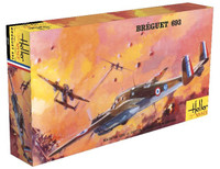 Breguet Bre 693/2 WWII French Ground Attack Aircraft 1/72 Heller
