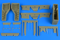 T-28 Trojan Wheel Bay For KTY (Resin) 1/32 Aires Hobby