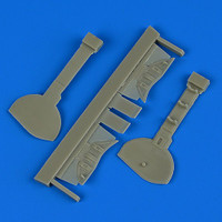 A6M5c Zero Type 52 Undercarriage Covers for HSG 1/32 Quickboost