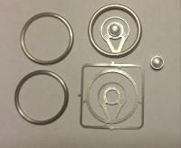 Halo Billet Steering Wheel Kit 1/24-1/25 Detail Master