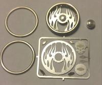 Inferno Billet Steering Wheel Kit 1/24-1/25 Detail Master