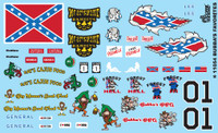 Bubba's Favorites - Southern Classic Logos 1/24-1/25 Gofer Racing Decals