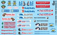 Home Town Sponsors 1/24-1/25 Gofer Racing Decals