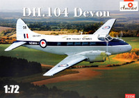 DH104 Devon New Zealand Warbirds Light Transport Aircraft 1/72 A-Model