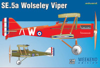 SE5a Wolseley Viper Aircraft (Wkd Edition Plastic Kit) 1/48 Eduard