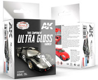 Car & Civil Vehicles Series: Two-Part Component Ultra Gloss Varnish 80ml AK Interactive