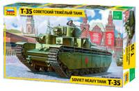 Soviet T35 Heavy Tank 1/35 Zvezda