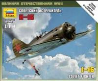 Soviet I16 Fighter (Snap) 1/144 Zvezda