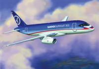 Sukhoi Superjet 100 Passenger Airliner 1/144 Zvezda