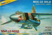 Soviet MiG23 MLD Fighter/Bomber 1/72 Zvezda