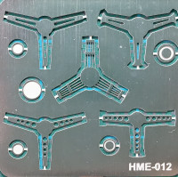 Steering Wheel Set 2 (5) 1/24-1/25 Highlight Model Studio