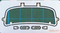 VW Beetle Safari Style Windshield Frame for TAM 1/24-1/25 Highlight Model Studio