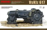 VsKfz 617 German WWII Minesweeper 1/35 Meng Models