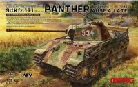 German SdKfz 171 Panther Ausf A Late Medium Tank 1/35 Meng Models