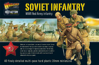 WWII Soviet Red Army Infantry (40) (Plastic) 28mm Warlord Games