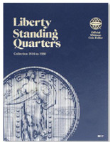 Liberty Standing Quarters 1916-1930 Coin Folder Whitman