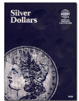 Silver Dollars Coin Folder Whitman