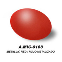 Metallic Red Acrylic Paint AMMO of Mig Jimenez