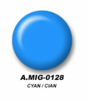 Cyan Acrylic Paint AMMO of Mig Jimenez