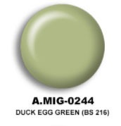 Duck Egg Green (BS 216) Acrylic Paint AMMO of Mig Jimenez