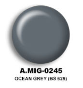 Ocean Grey (BS 629) Acrylic Paint AMMO of Mig Jimenez
