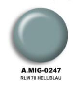 RLM 78 Hellblau Acrylic Paint AMMO of Mig Jimenez