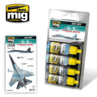 SU-35 Flanker-E Colors Acrylic Paint Set (4 colors) AMMO of Mig Jimenez