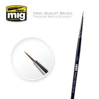 5/0 Premium Marta Kolinsky Round Brush AMMO of Mig Jimenez