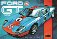 2006 Ford GT Gulf Heritage Race Car (Snap) 1/25 Polar Lights