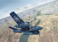 F7F-3 Tigercat US Marines Fighter 1/48 Italeri