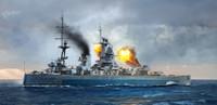 HMS Nelson British Battleship 1944 1/700 Trumpeter