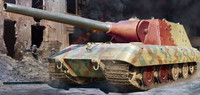 German StuG E-100 Tank 1/35 Trumpeter