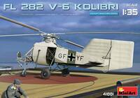 Flettner FL282 V6 Kolibri (Hummingbird) Single-Seat Scout Helicopter 1/35 MiniArt