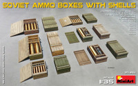 Soviet Ammo Boxes w/Shells 1/35 Miniart Models