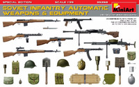 Soviet Infantry Automatic Weapons & Equipment (Special Edition) 1/35 Miniart Models