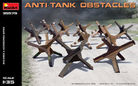 Anti-Tank Obstacles 1/35 Miniart Models