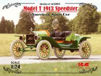 American Model T 1913 Speedster Sports Car 1/24 ICM Models