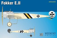 Fokker E II Aircraft (Wkd Edition Plastic Kit) 1/48 Eduard