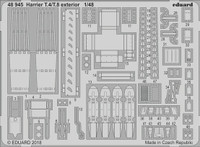Harrier T4/T8 Exterior for KIN 1/48 Eduard