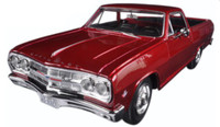 1965 Chevrolet El Camino (Met. Red) 1/25 Maisto