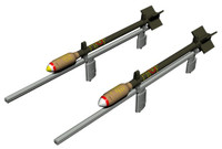 WWII RP3 60lb SAP/HE British Rocket Projectile 1/32 Special Hobby