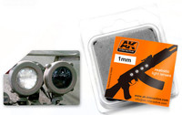 1mm White Light Lenses (4) AK Interactive