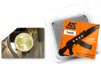 1mm Amber Light Lenses (4) AK Interactive