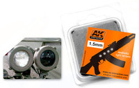 1.5mm White Light Lenses (4) AK Interactive