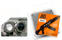 2mm White Light Lenses (4) AK Interactive