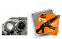 2.3mm White Light Lenses (4) AK Interactive