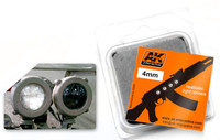 4mm White Light Lenses (4) AK Interactive