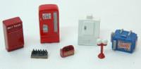 Vending Machine Detail Set (17) HO Scale JL Innovative